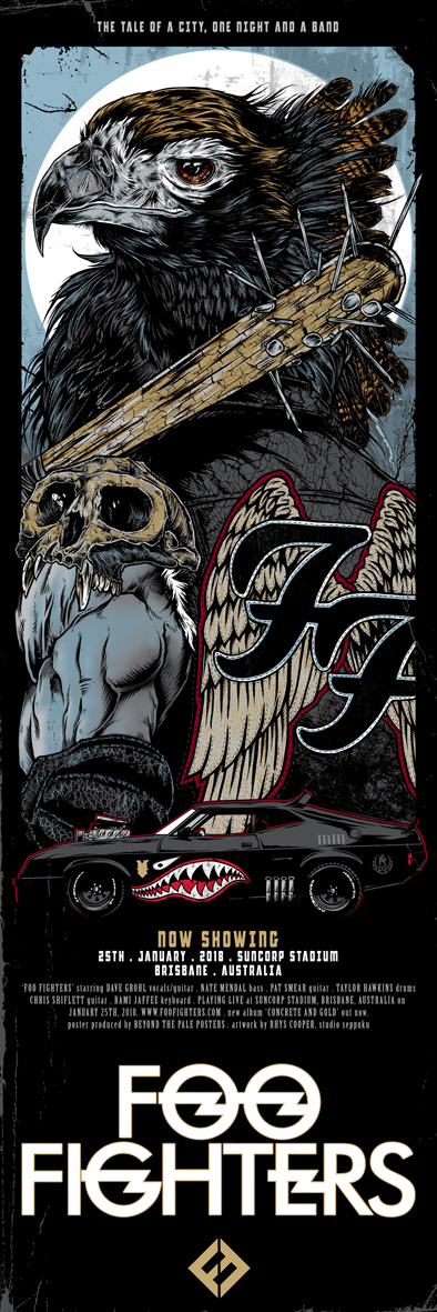 Foo fighters tour dates in Brisbane
