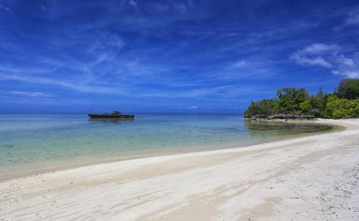 Menikmati Pesona Pantai Taduno DI Wakatobi Yang Tersembunyi