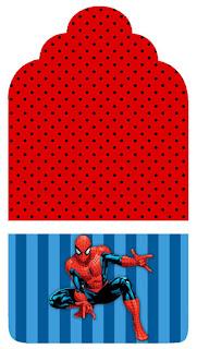 Marcapaginas para Imprimir Gratis de Spiderman.
