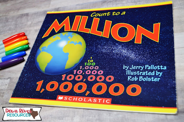 Count to a Million by Jerry Pallotta - Place Value Picture Books