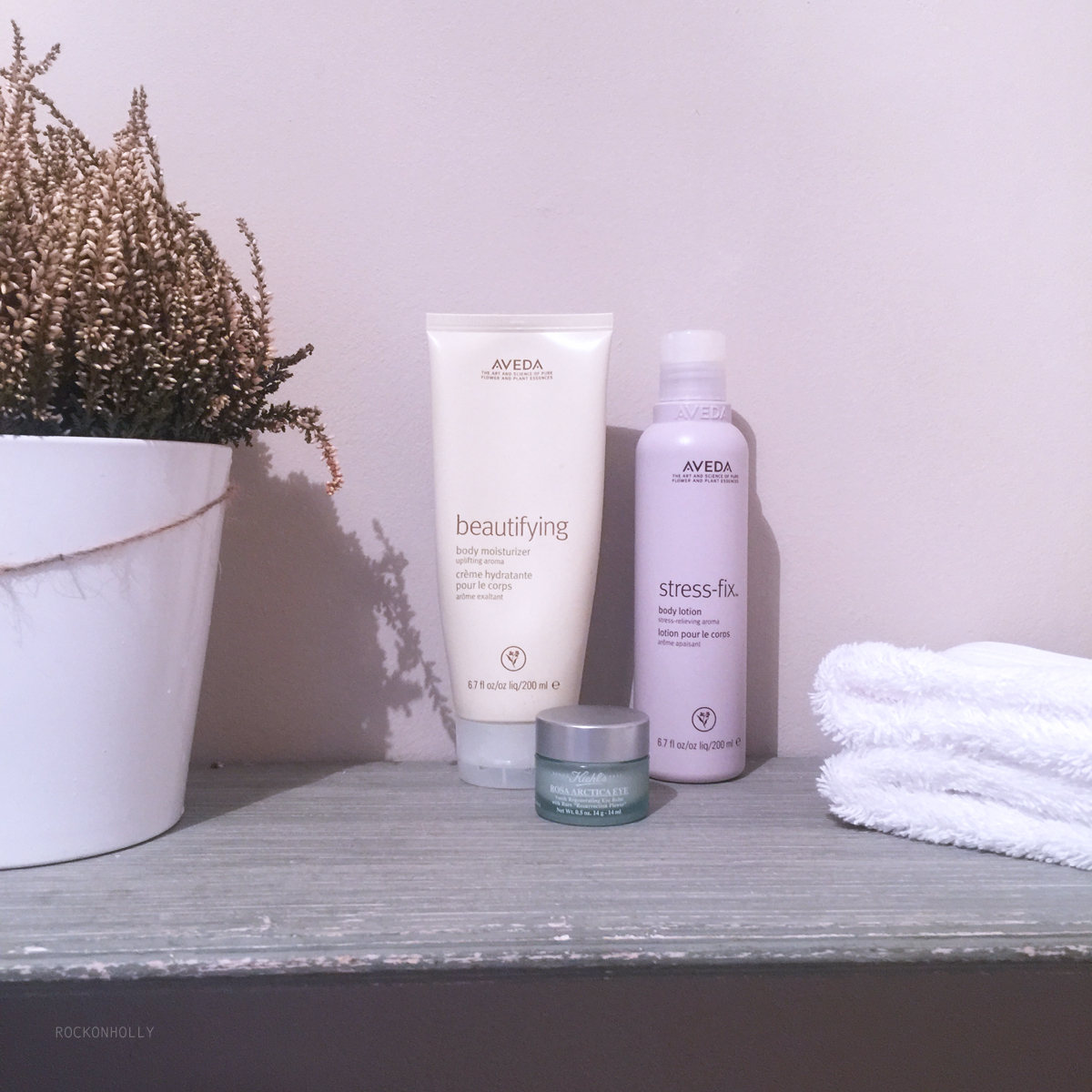 Destressing with Aveda