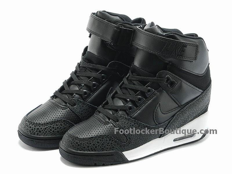 buy popular cd1d4 885a0 Nike Air Revolution Sky Hi GS Chaussures Pour Femme Noir 599410-003
