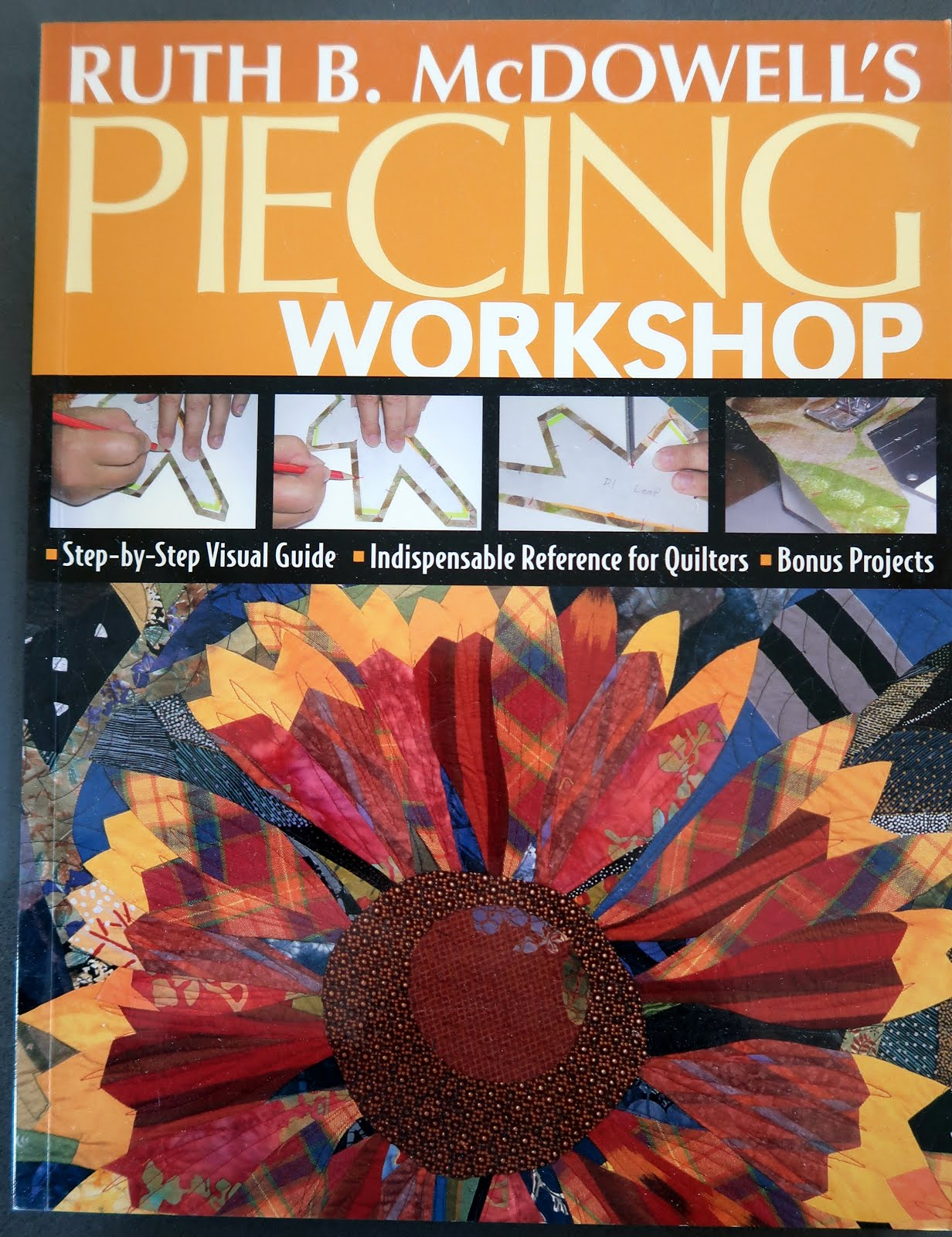 Only $12.99! Ruth McDowell's Piecing Workshop (click!)