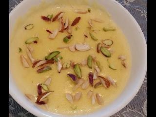 special vanila custard kheer recipe in urdu