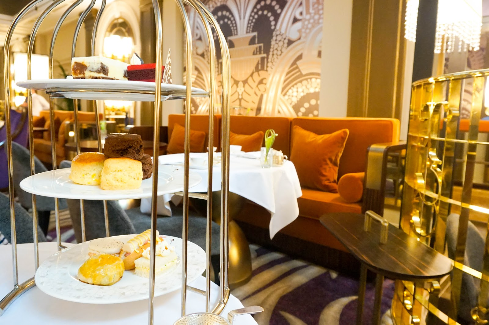 Afternoon Tea Delight with Palm Court at Sheraton Grand London
