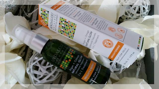 ANDALOU Natural Glow 3 in 1 Treatment - rozświetlający olejek do twarzy i ciała