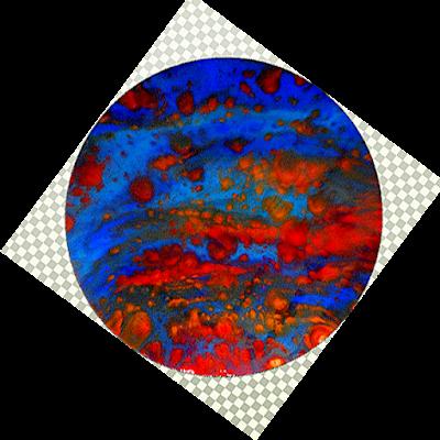 epoxy resin art by Jane Biven HalfBakedArt