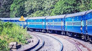 Indian railways coaches are merging with different religions, casts and languages.