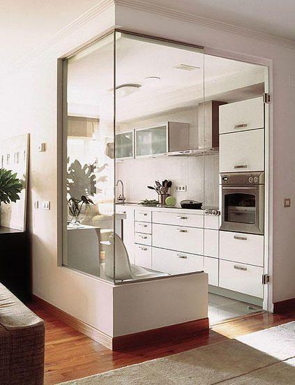 idéias cozinhas abertas