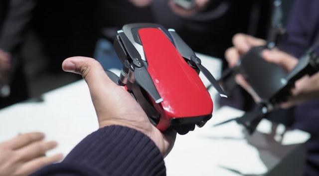 Drone DJI Mavic Air Yang Lebih Ringkas