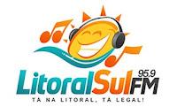 Rádio Litoral Sul FM 95,9 de Paranaguá PR