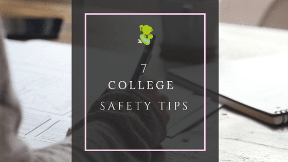 Although I've personally been out of college for a few years, there are many safety tips that I have when attending either a small campus or a large University. Being far from home, safety is high up on my list of priorities. For girls especially, it may not be the best of conversations but it needs to be talked about.