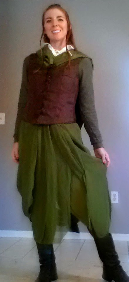 Tauriel Thrifted Costume Video by AttainableHorseship