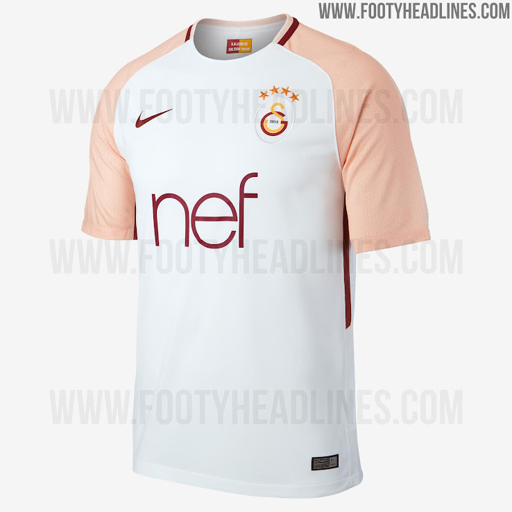 new concept 9b3f8 145be Galatasaray 17-18 Away Kit Released - Footy Headlines