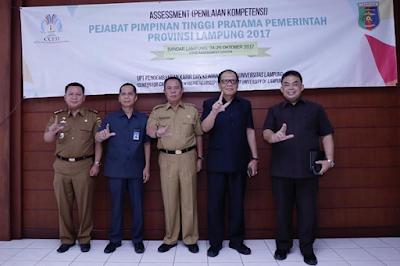 Gelar Assesment, Pemprov Lampung Targetkan Pemimpin Berintegeritas dan Kompeten