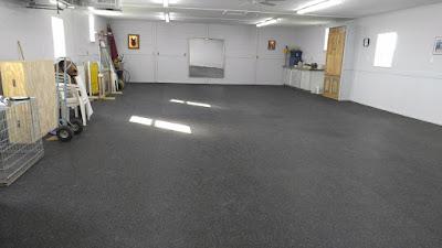 Greatmats rubber flooring rolls dog training center floor