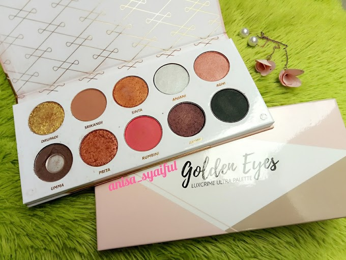 [Mini Review] LUX CRIME Golden Eyes Ultra Palette Eyeshadow