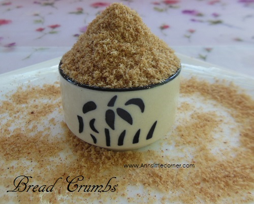 How to make Homemade BreadCrumbs- Step 2