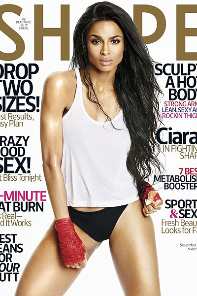 Ciara photo shoot for magazine