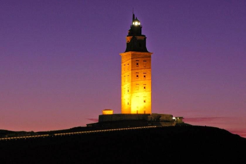 Beautiful Lighthouses around the World - Tower of Hercules, Spain