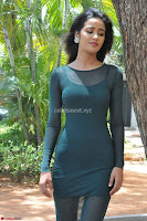 Simran Choudhary Cute beauty with dimples in transparent Green Tight Short Dress ~  Exclusive 018.jpg