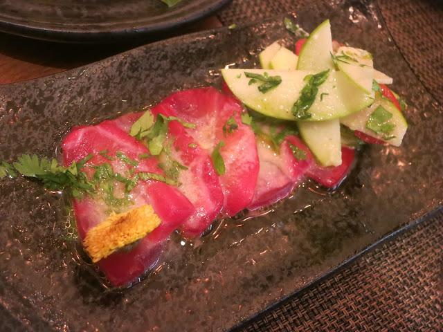 Tuna marinato