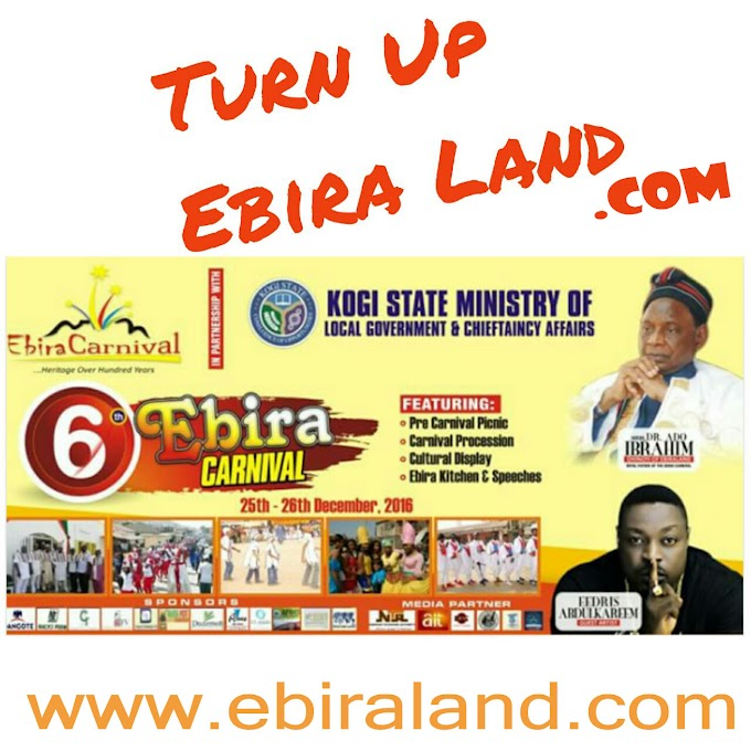 Turn Up Ebiraland, The 6th Edition Of Ebira Carnival Is Here