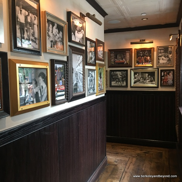 wall of fame at Louie Bossi's Ristorante in Fort Lauderdale, Florida