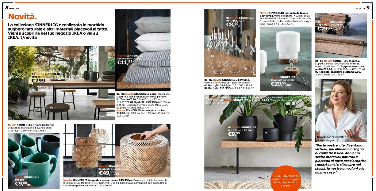 Ikea il catalogo nuovi trend e idee glamourday moda