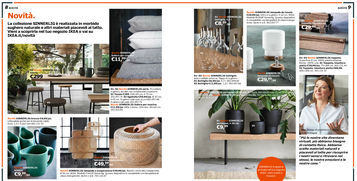 Ikea 2016 il catalogo nuovi trend e idee glamourday moda lifestyle storytelling blog - Bottiglie vetro ikea ...