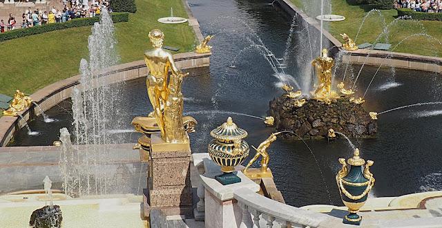 Петергоф, фонтан Самсон (Peterhof, Samson Fountain)