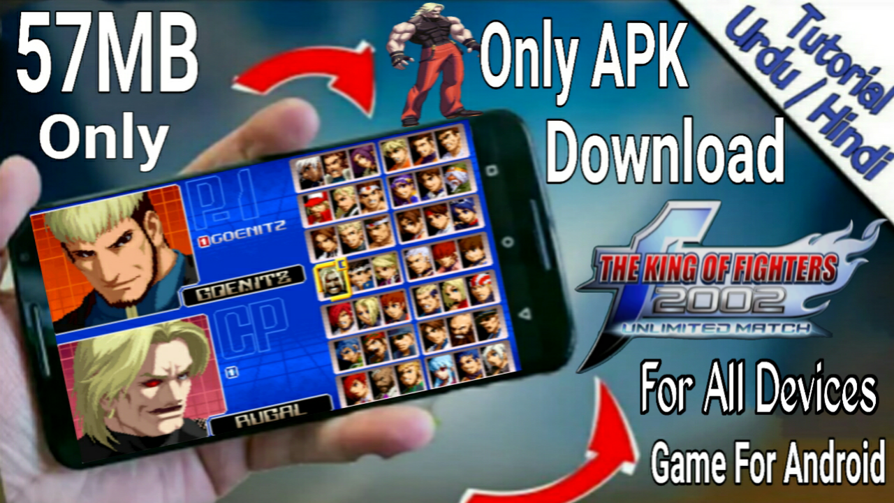 king of fighters 2002 apk