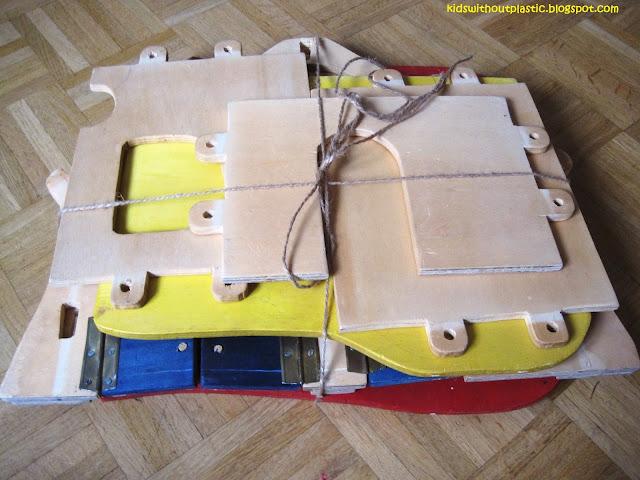 drewniany domek dla lalek DIY