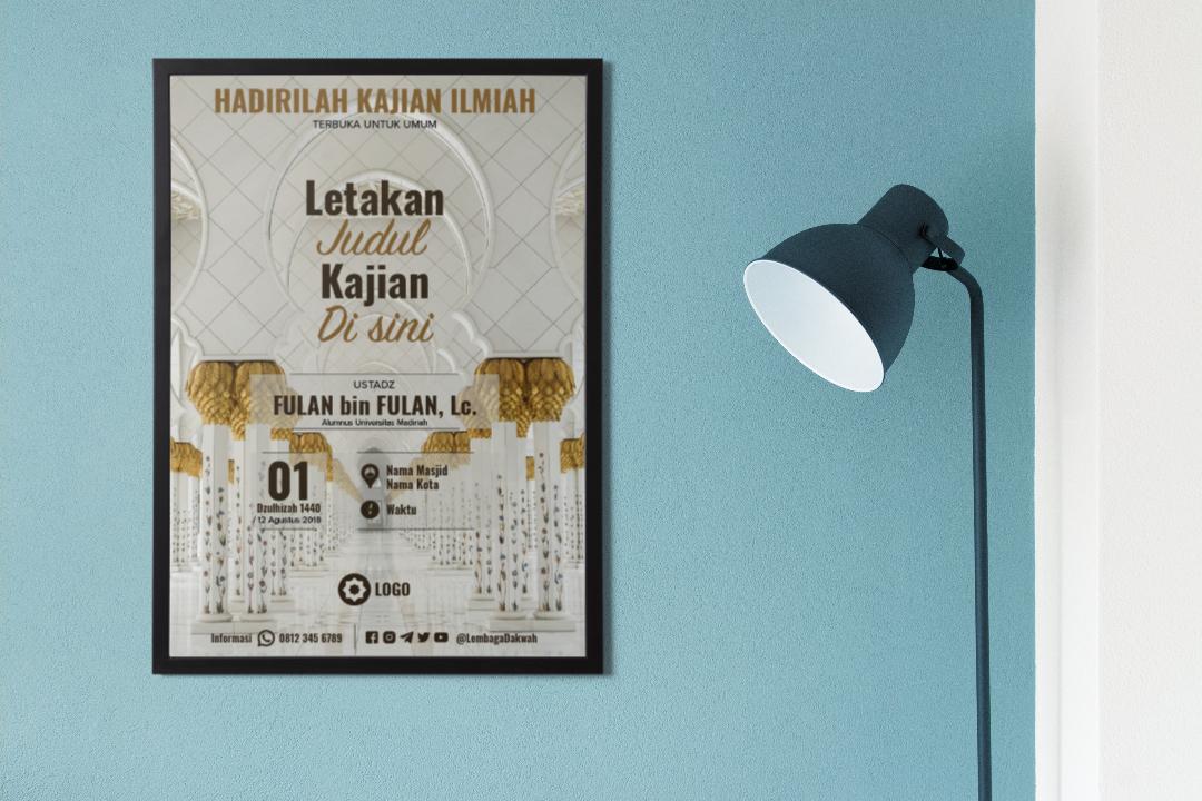 Download Template Poster Kajian Sunnah GRATIS! #1
