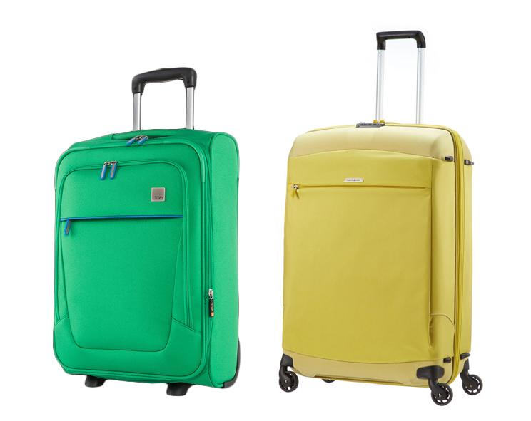 mjuk resväska med hjul