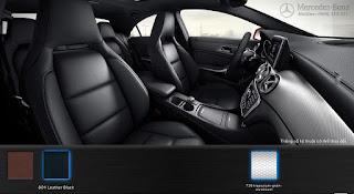Nội thất Mercedes CLA 250 4MATIC 2016 màu Đen 801