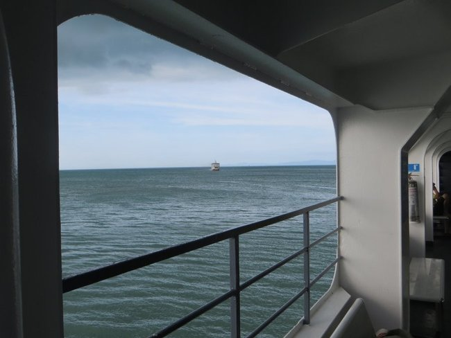 Море вид с парома