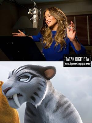 Digitista MediaWave: Jennifer Lopez plays saber tooth ...
