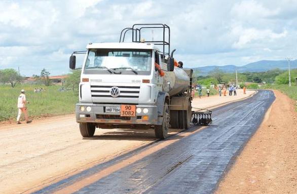 Pavimentação da BR-316 que liga Canapi/AL a Inajá/PE é iniciada pelo governo de Alagoas