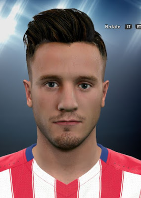 Saul Niguez PES2016 Face By DzGeNiO
