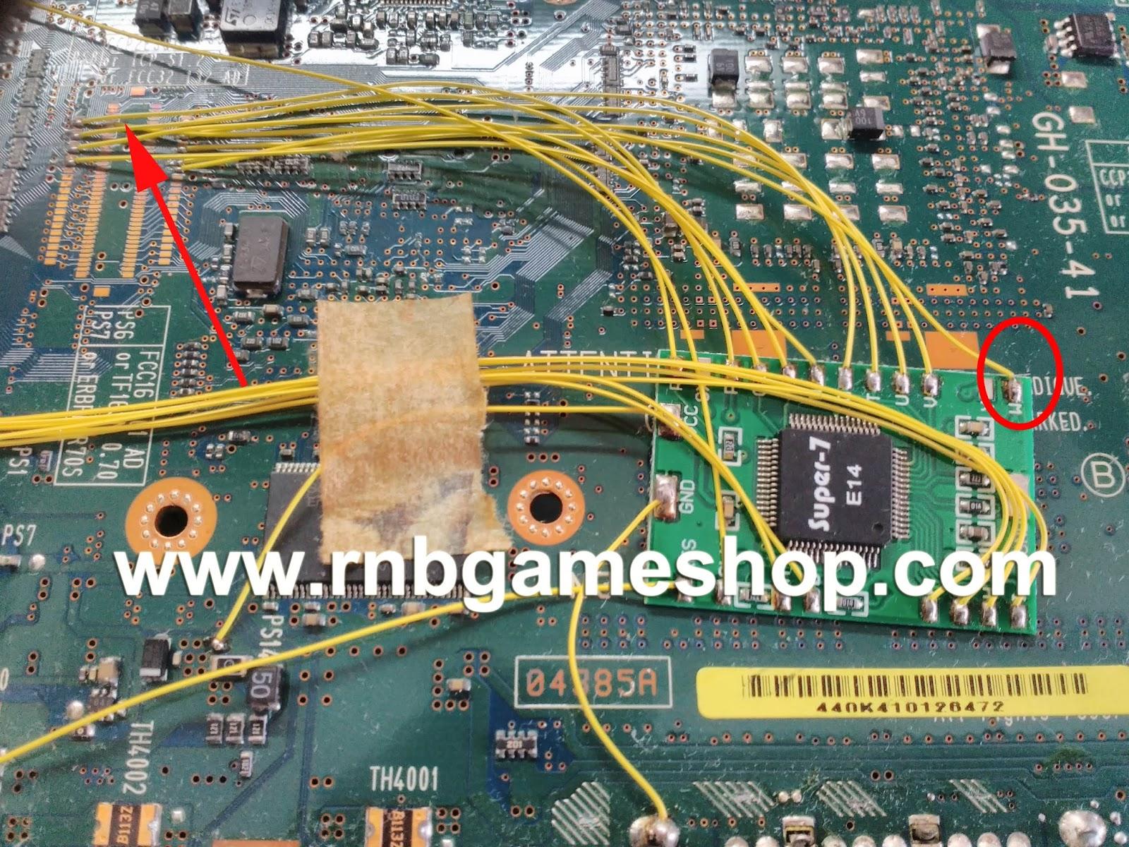 Cara Memperbaiki PS2 Slim Seri 7 Blank Biru - RNB GAME - SHOP