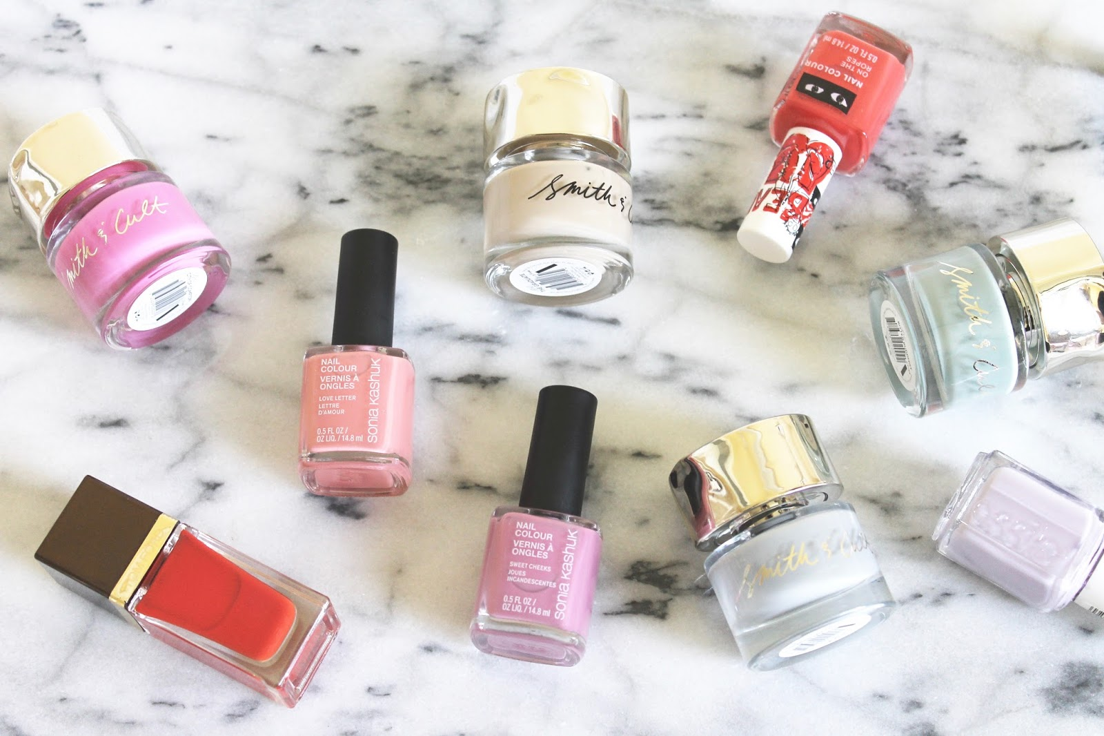 THE SPRING/SUMMER NAIL POLISH EDIT