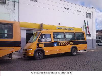 Transporte escolar de Buerarema ficar sem rodar por falta de combustível