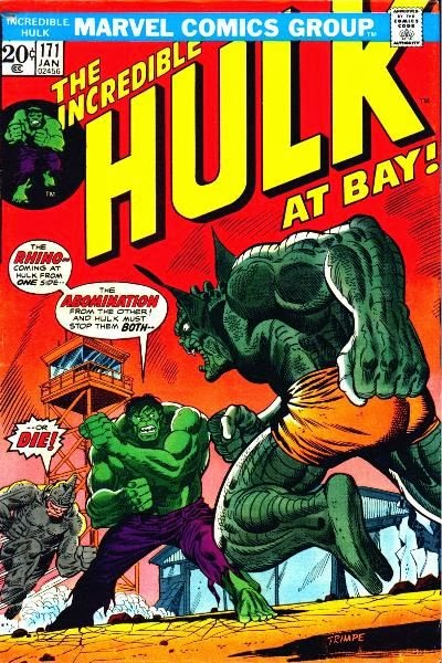 Incredible Hulk #171, The Rhino and the Abomination
