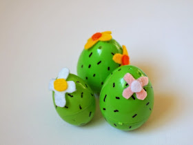 Make Cacti Easter Egg Weebles