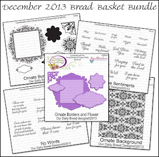 Stamps - Our Daily Bread Designs December Bread Basket Bundle