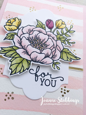 Jo's Stamping Spot - ESAD 2018 Retirement List Blog Hop using Birthday Blooms by Stampin' Up!