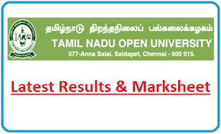TNOU Results June 2021