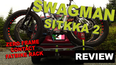 Swagman Sitkka 2 Zero Frame Contact Fatbike Rack Review