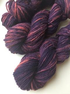 llanwenog wool handdyed